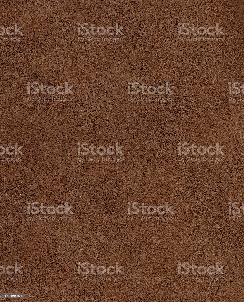 Brown Suede Leather background stock photo