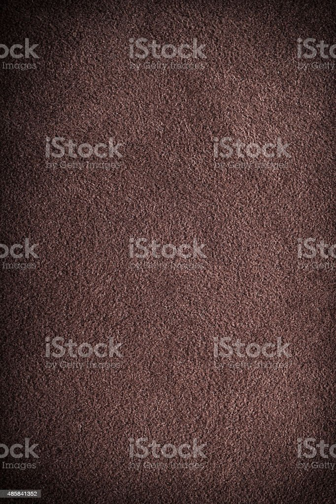 Brown suede texture background stock photo