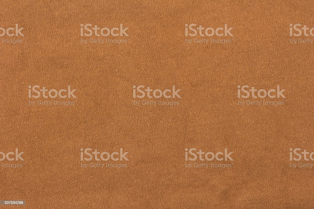 Brown suede texture stock photo