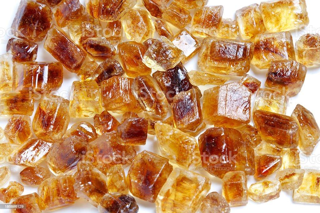 Brown Sugar Crystals royalty-free stock photo