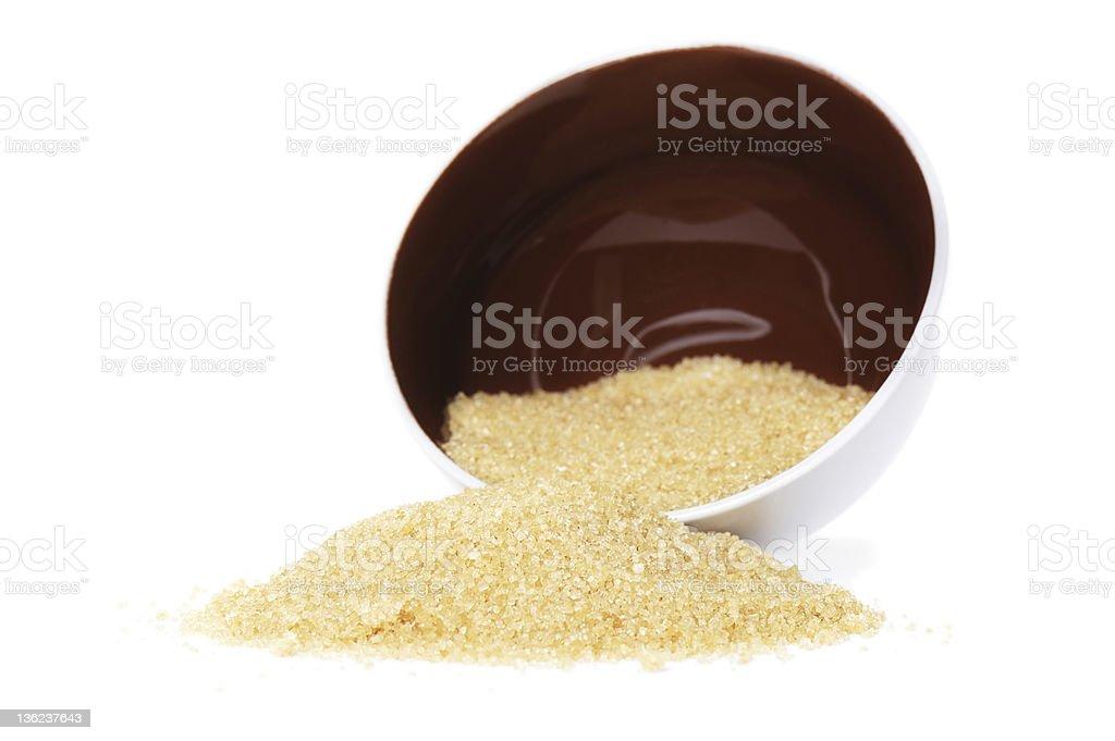 Brown Sugar royalty-free stock photo