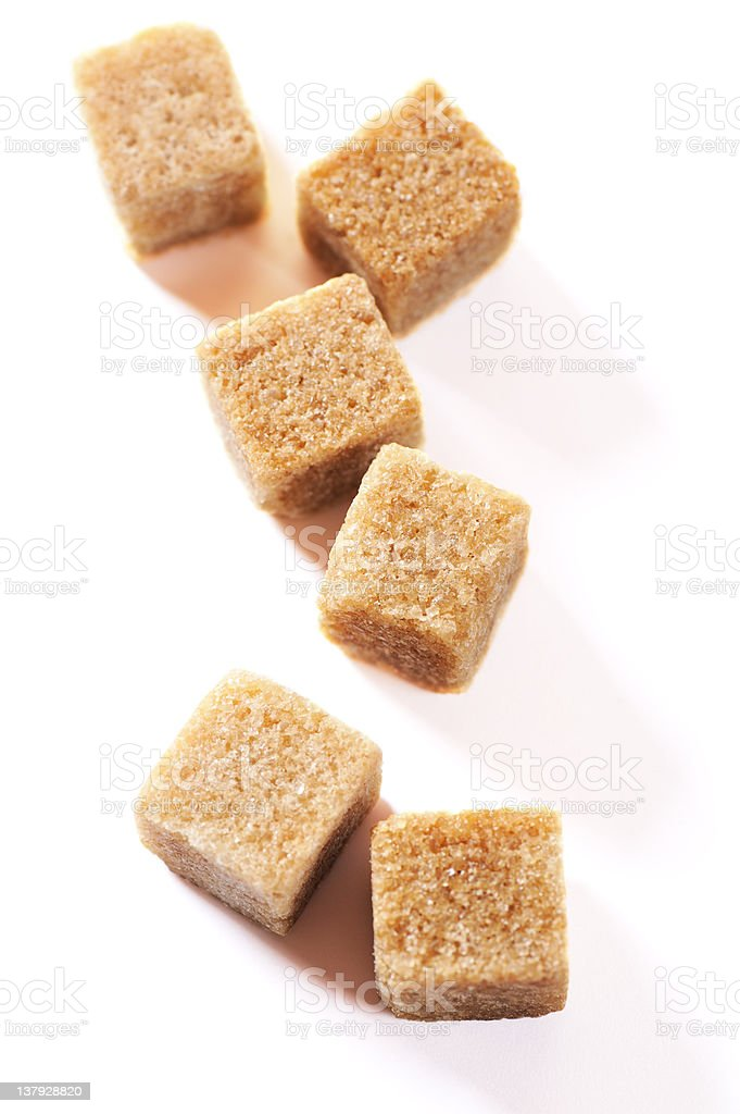 Brown sugar royalty-free stock photo