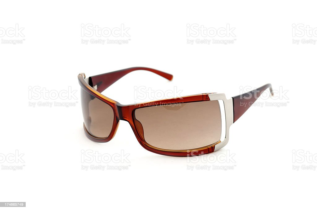Brown Sunglasses royalty-free stock photo