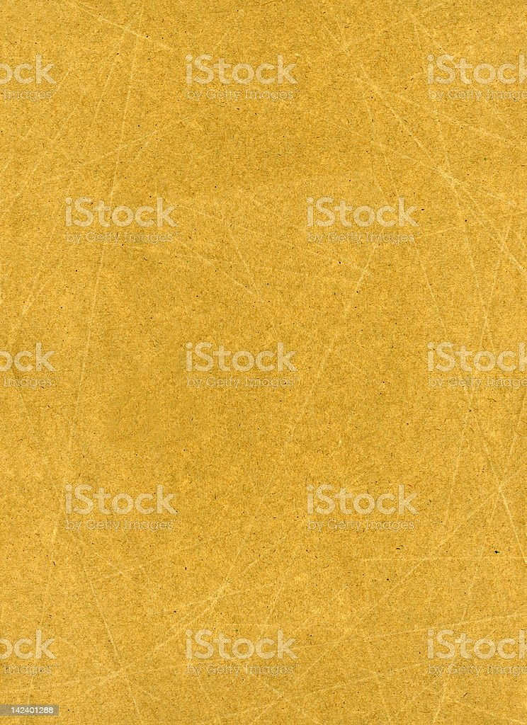 Brown textured paper royalty-free stock photo