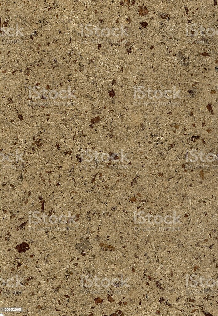 Brown textured paper stock photo