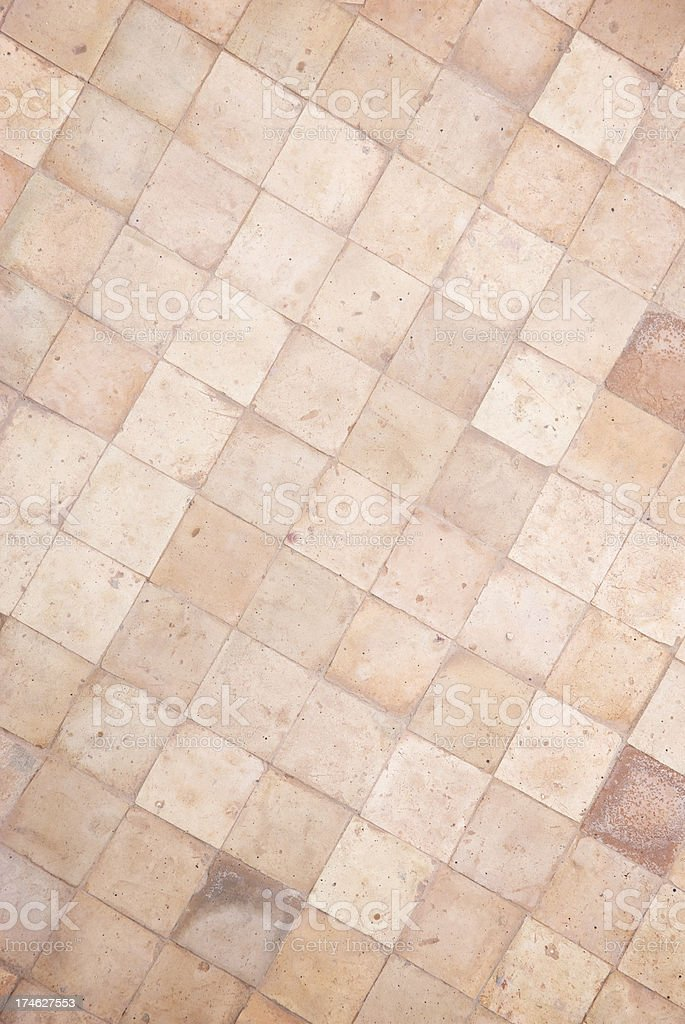 Brown Tile Background royalty-free stock photo