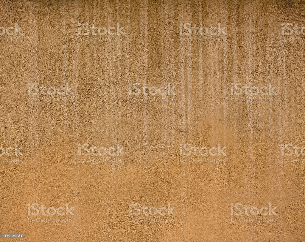 Brown Tuscan wall texture background, Volterra Italy royalty-free stock photo