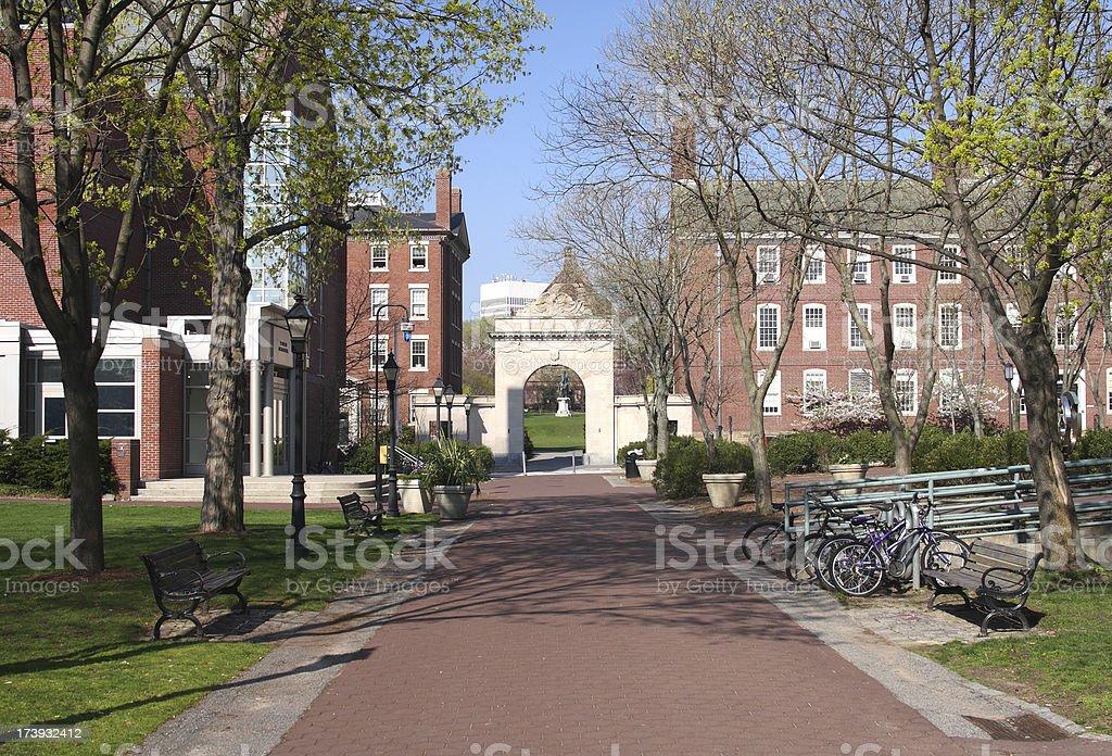 Brown University royalty-free stock photo