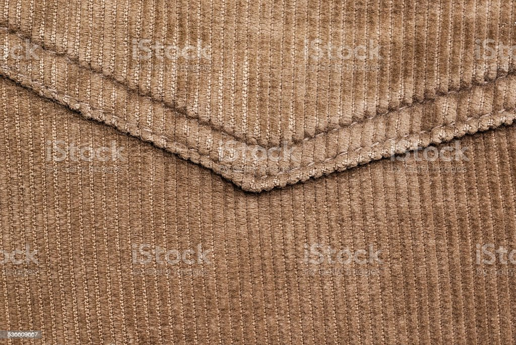 Brown velvet stock photo