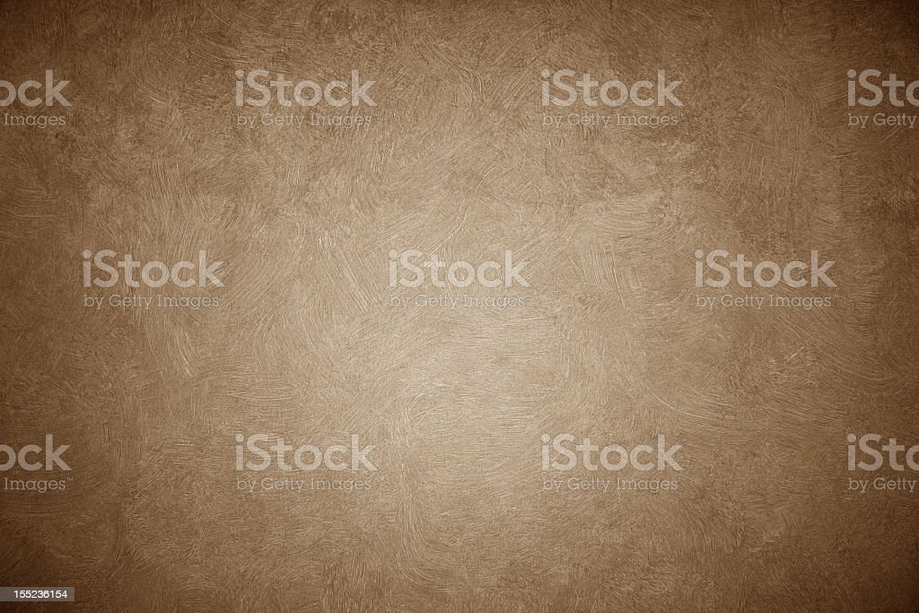 Brown vintage background with lighter center stock photo