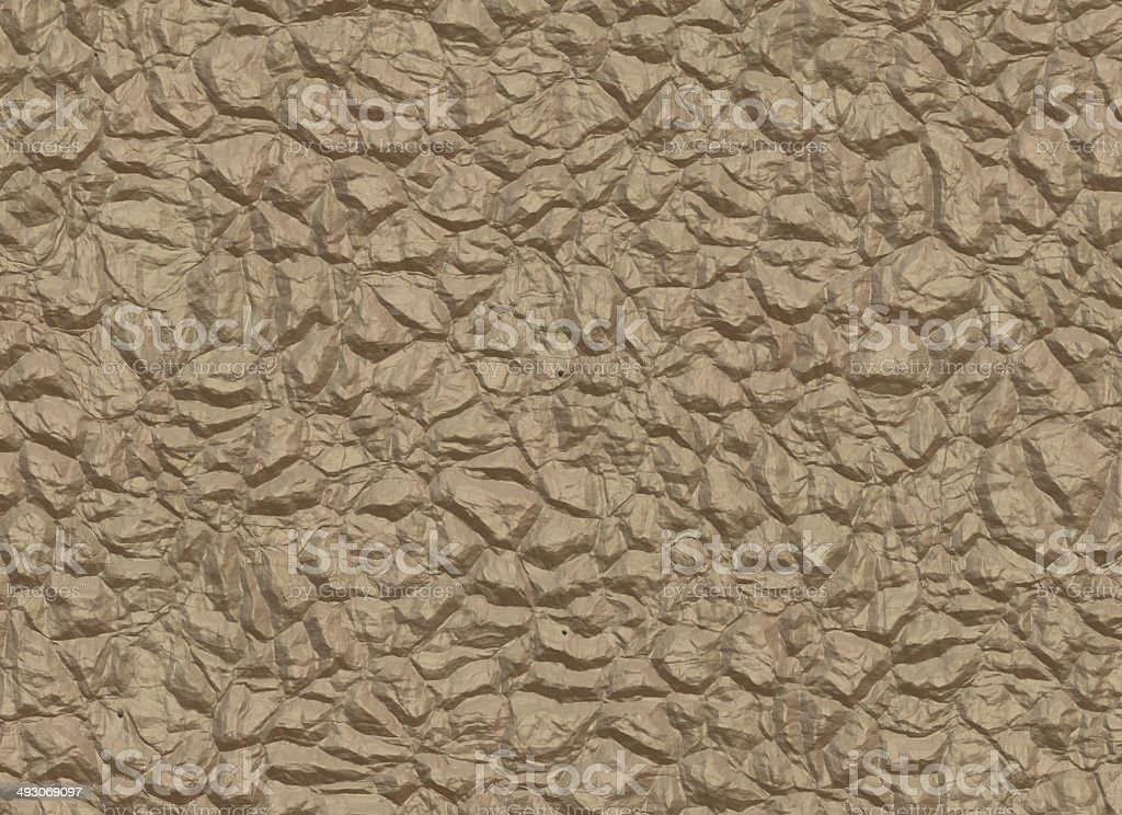 brown wall from natural stones stock photo