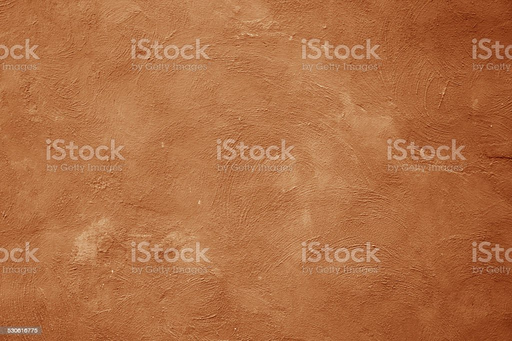 Brown wall scratched texture background. stock photo