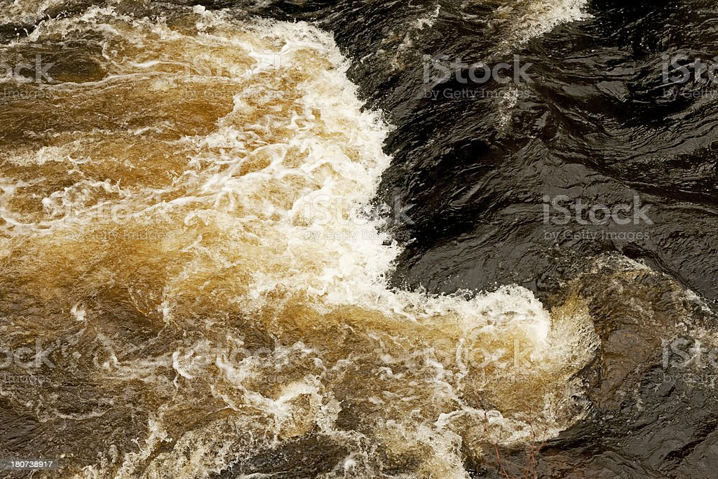 Brown water stock photo