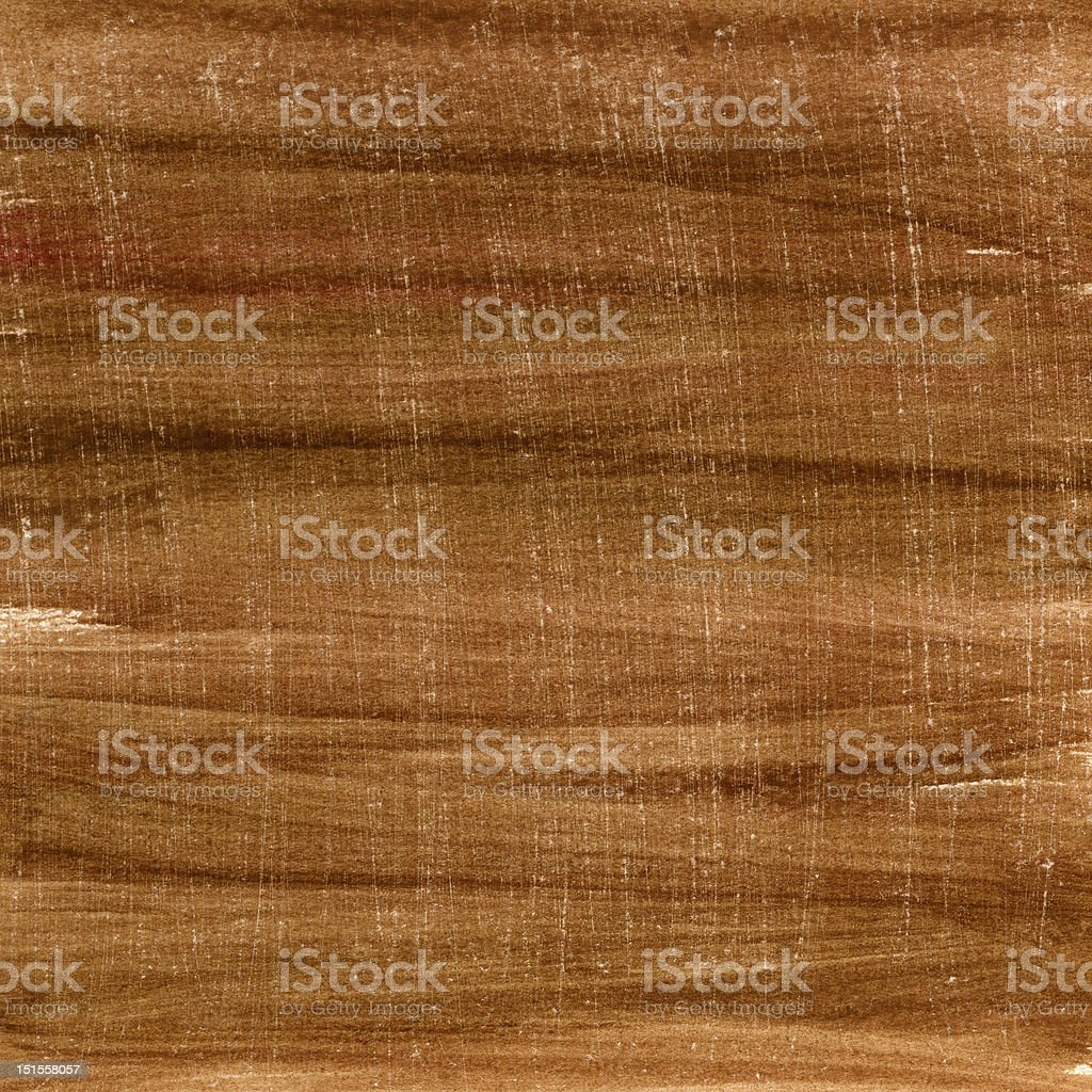 brown watercolor painted and scratched paper royalty-free stock photo