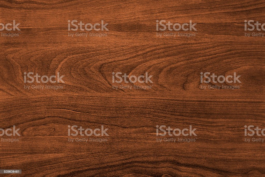 Brown Wooden Desk Background stock photo