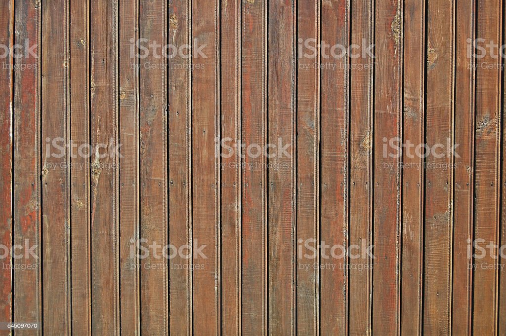 brown wooden fence, wood panels stock photo