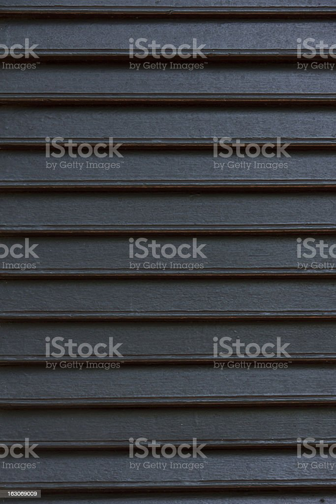 brown wooden shutters royalty-free stock photo