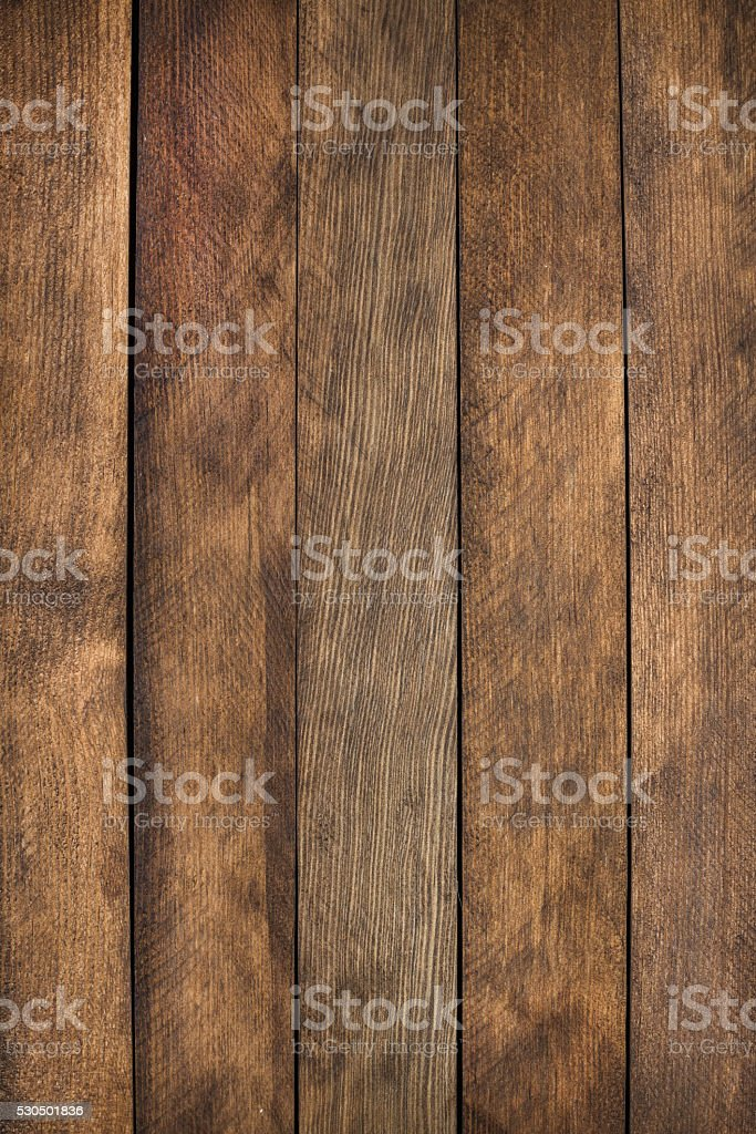Brown wooden texture. Vintage rustic style. Natural surface, background and stock photo