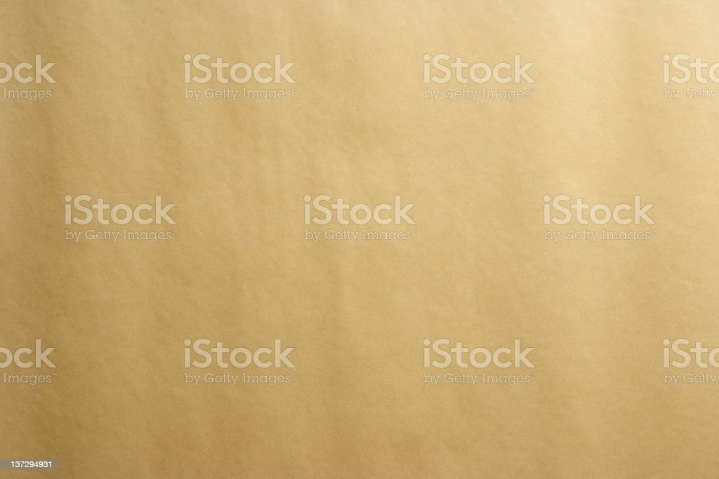 Brown wrapping paper texture background stock photo