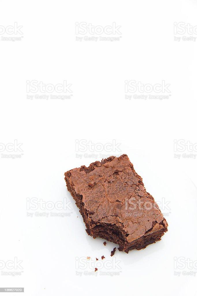 brownie royalty-free stock photo