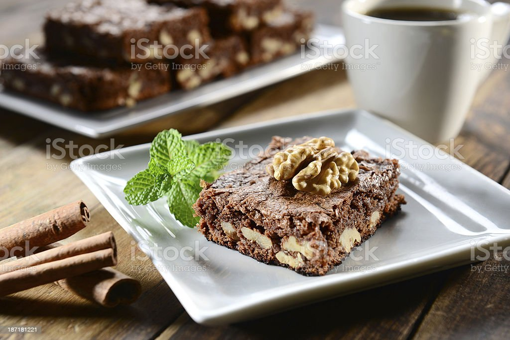 Brownie royalty-free stock photo