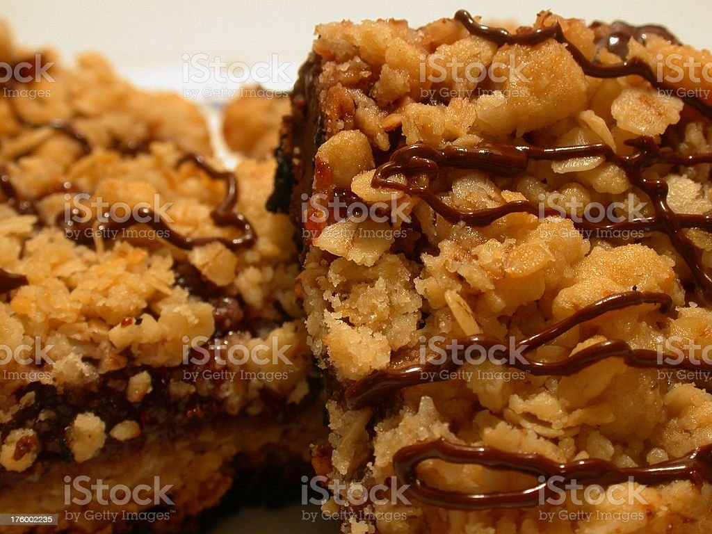 Brownie Squares royalty-free stock photo