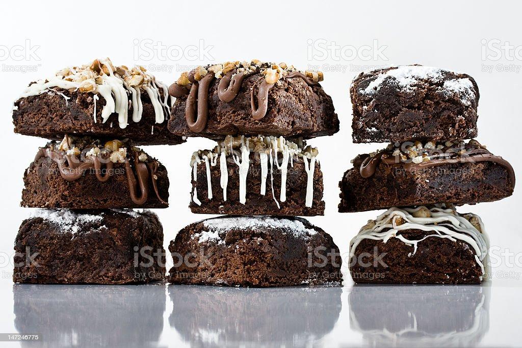 Brownies photo libre de droits