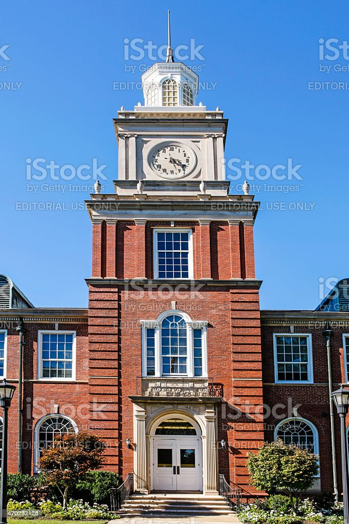 Browning Building at Austin Peay State University TN stock photo