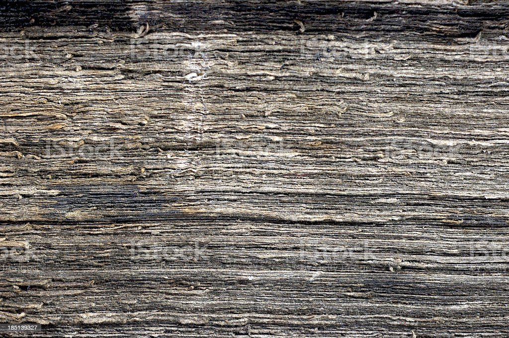 Brownish pages of old ancient book royalty-free stock photo
