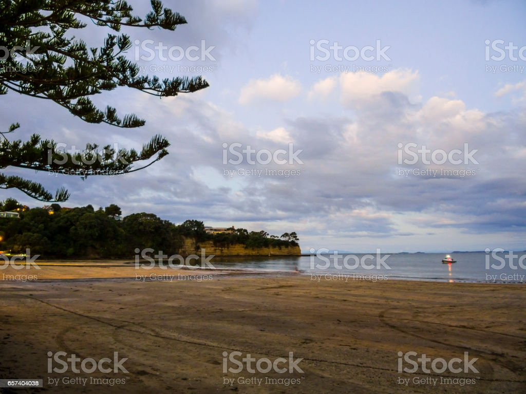 Browns Bay stock photo