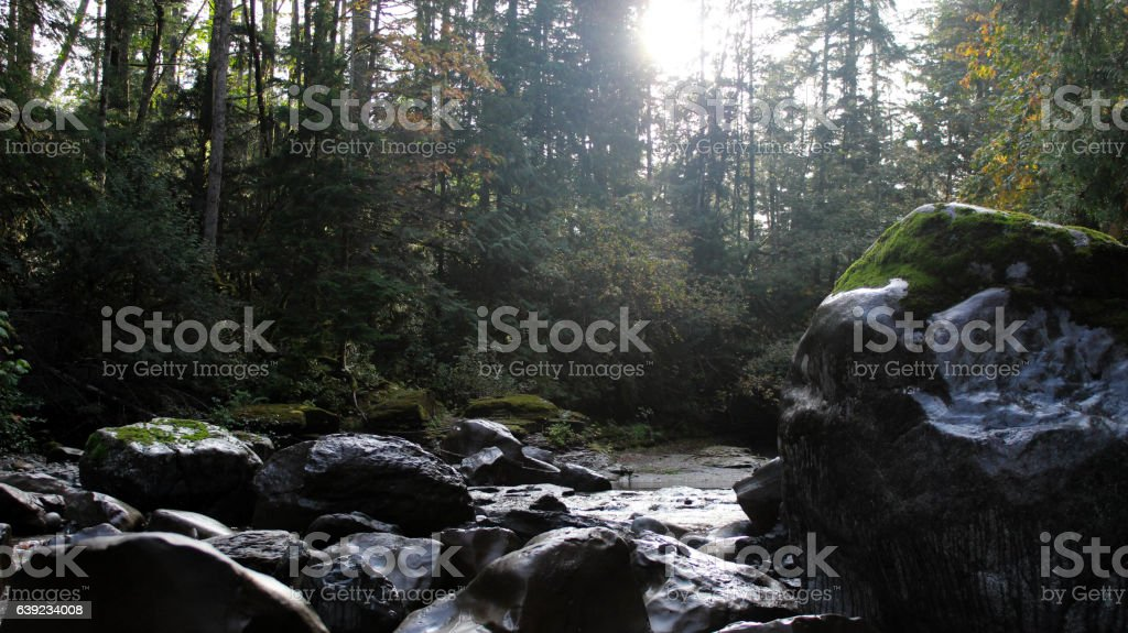 Browns river stock photo