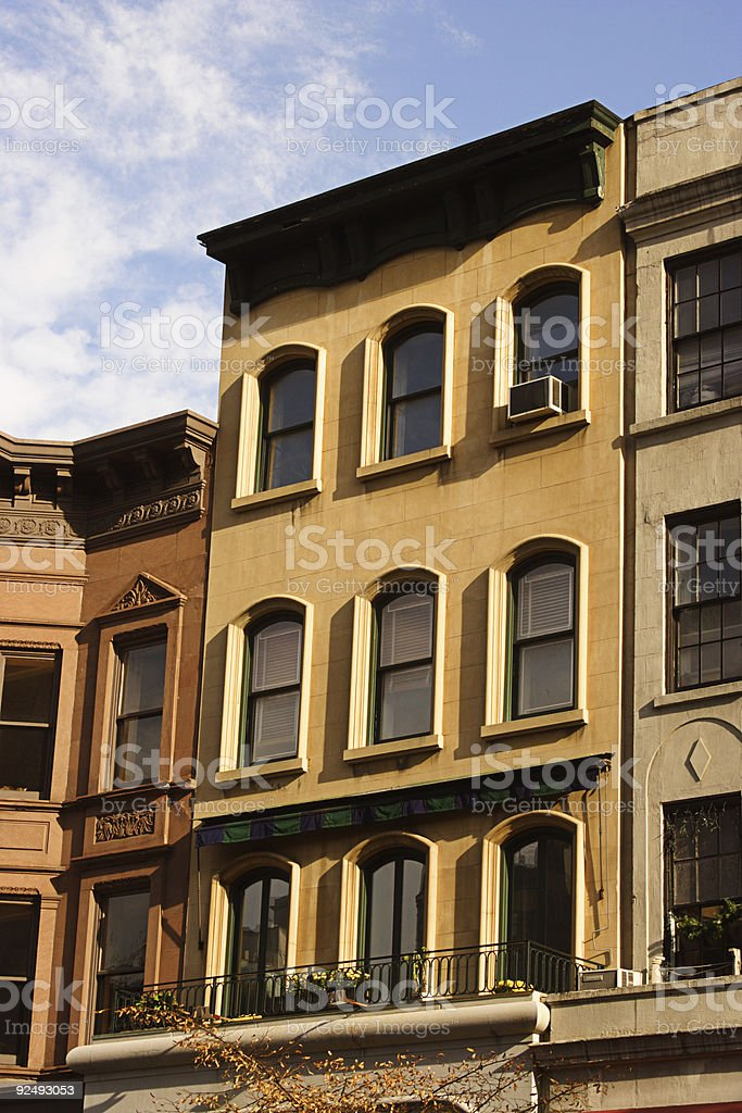 Brownstone Series royalty-free stock photo