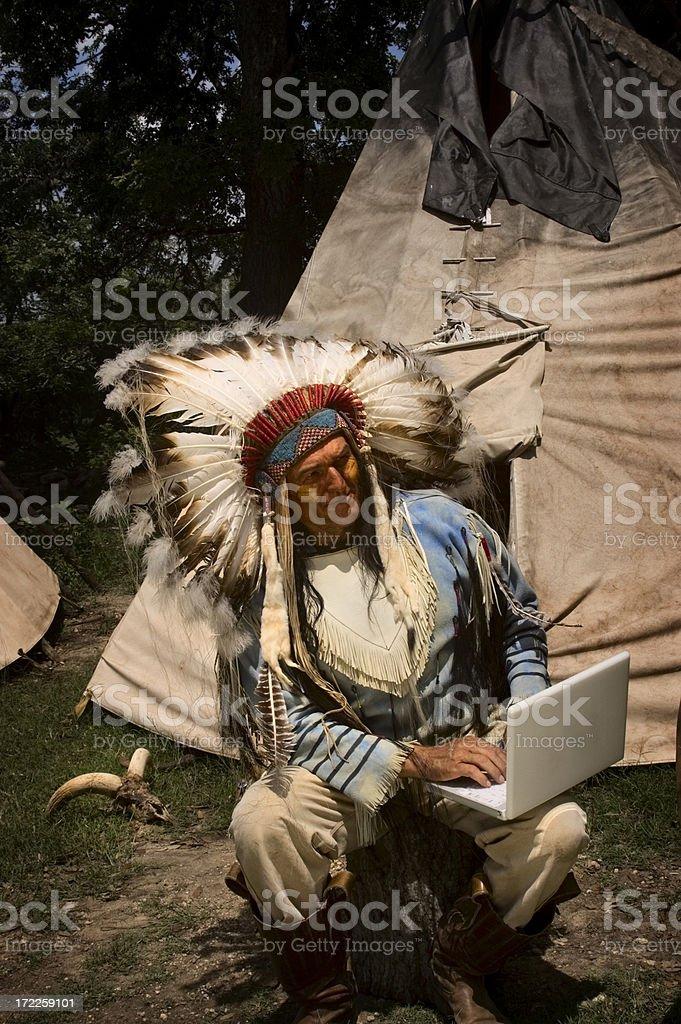 Browsing Eagle royalty-free stock photo