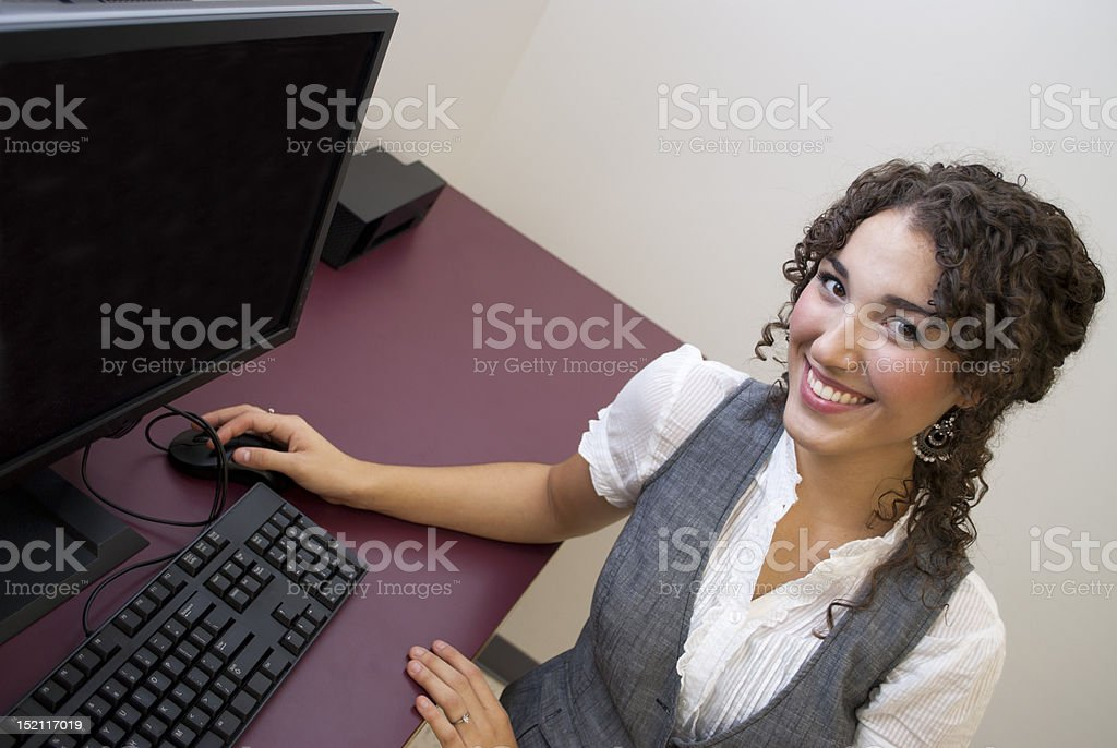 Browsing royalty-free stock photo