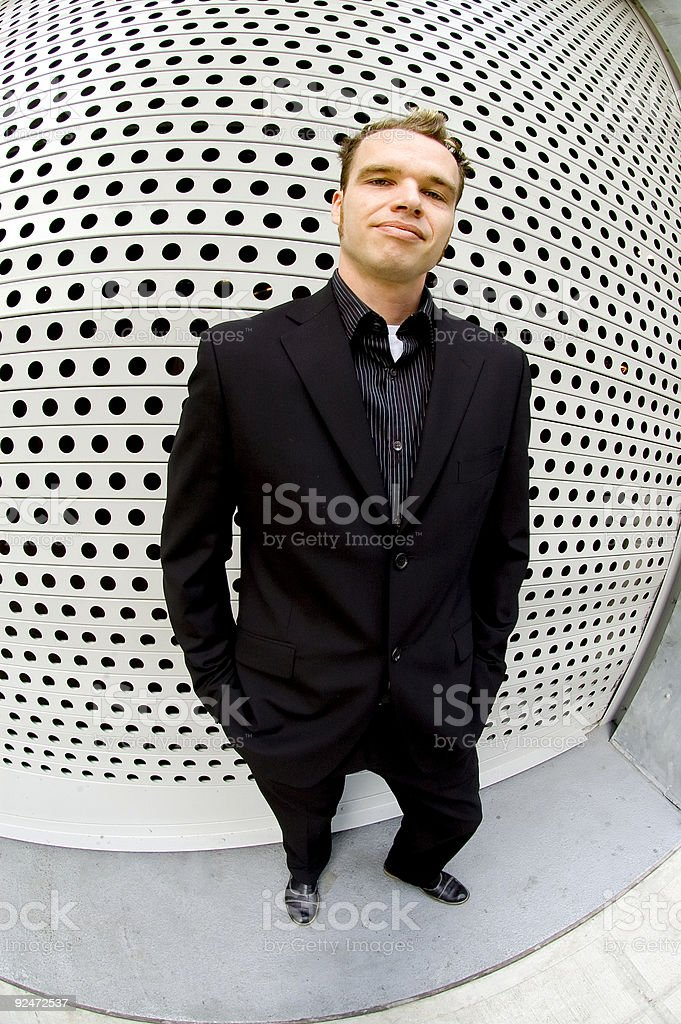 Bruce - Outside Grate Wall 1 royalty-free stock photo