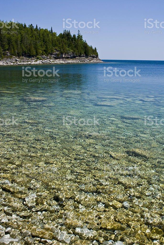 Bruce Peninsula Shoreline royalty-free stock photo