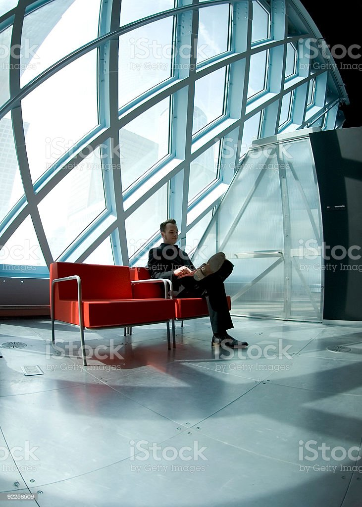 Bruce - Relaxing 2 royalty-free stock photo
