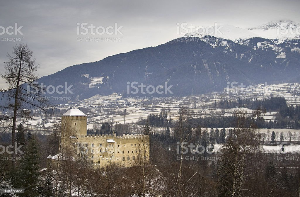 Bruck Castle in East Tyrol, Austria royalty-free stock photo