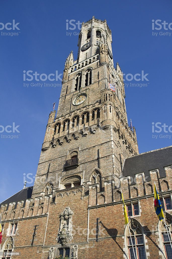 Bruges Belfort royalty-free stock photo