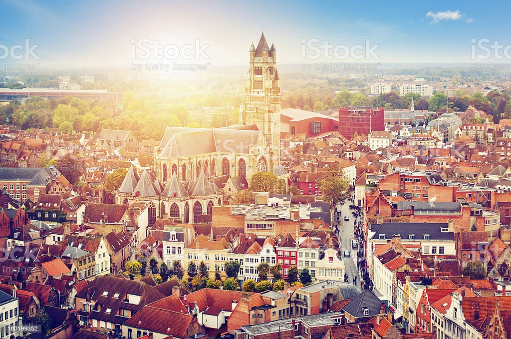 Bruges, Belgium royalty-free stock photo