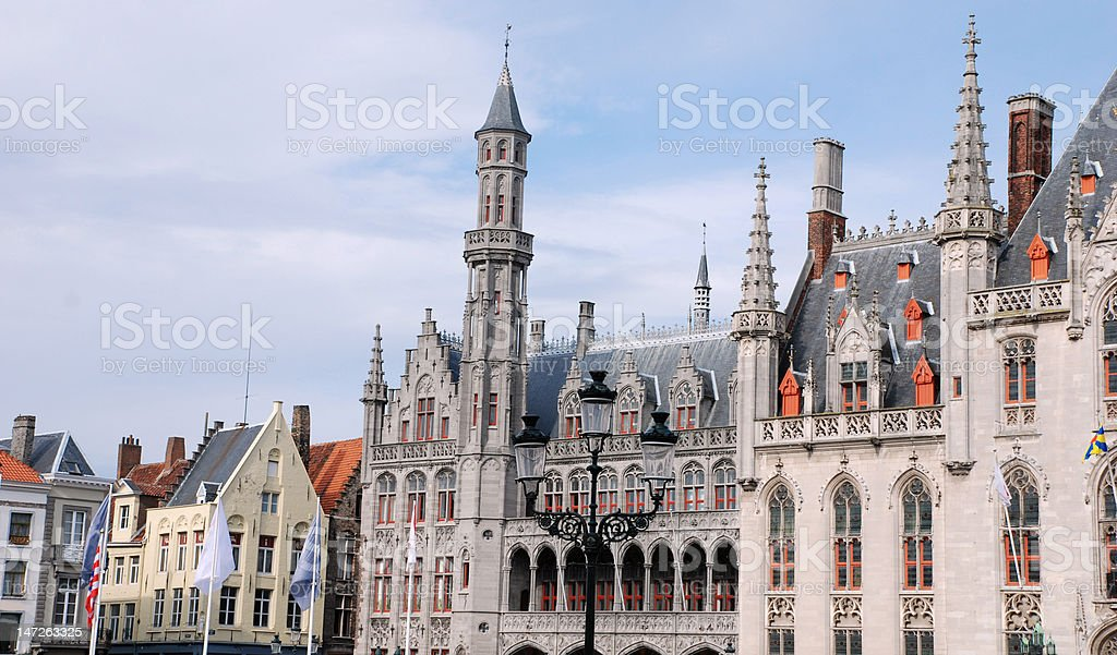 Bruges royalty-free stock photo