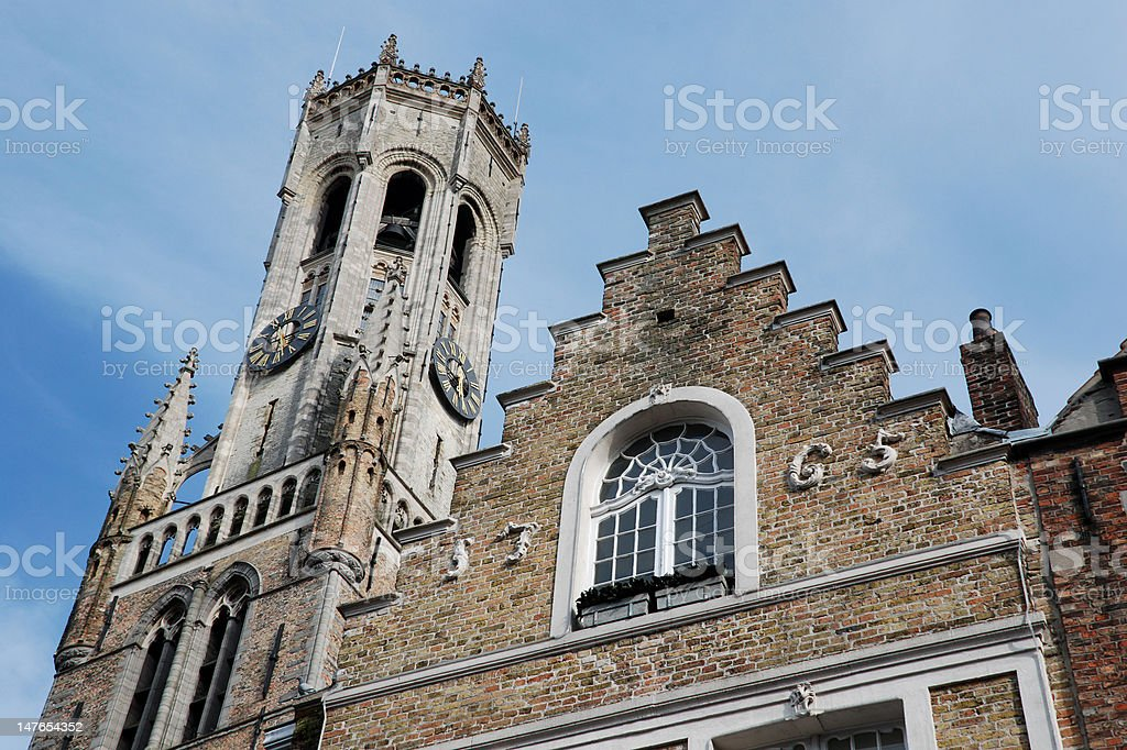 Bruges (Belgium) royalty-free stock photo
