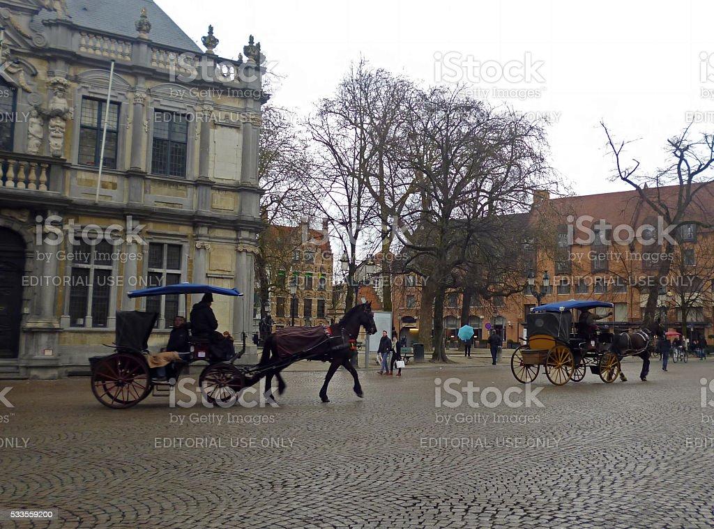 Brugge stock photo