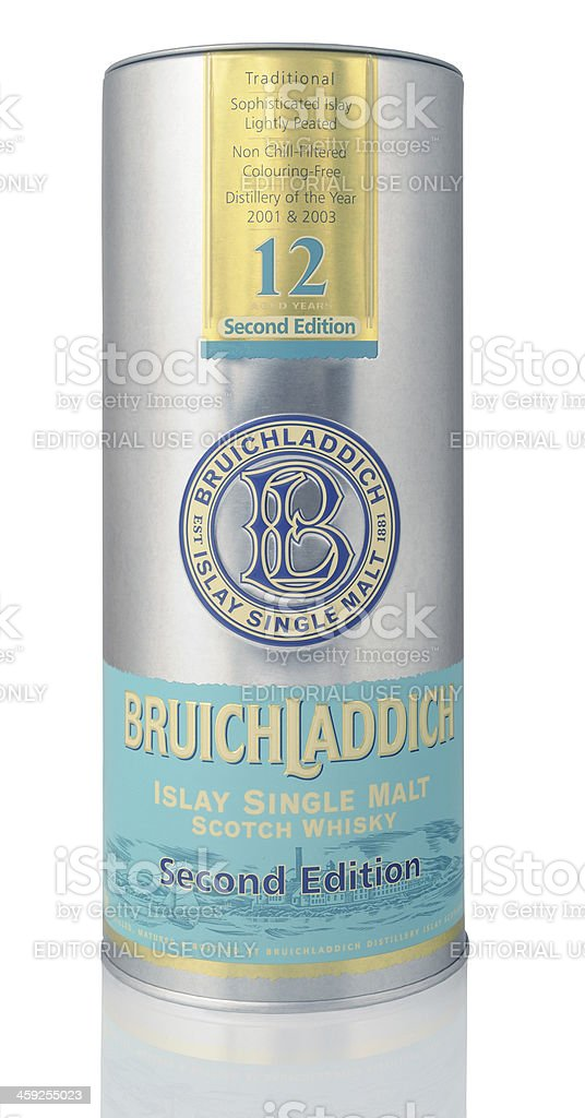 Bruichladdich Tube stock photo