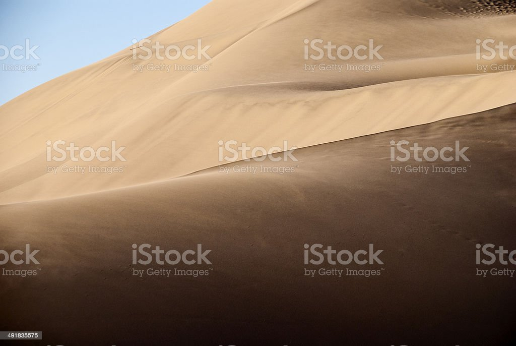 Bruneau Dunes State Park, Idaho, USA royalty-free stock photo