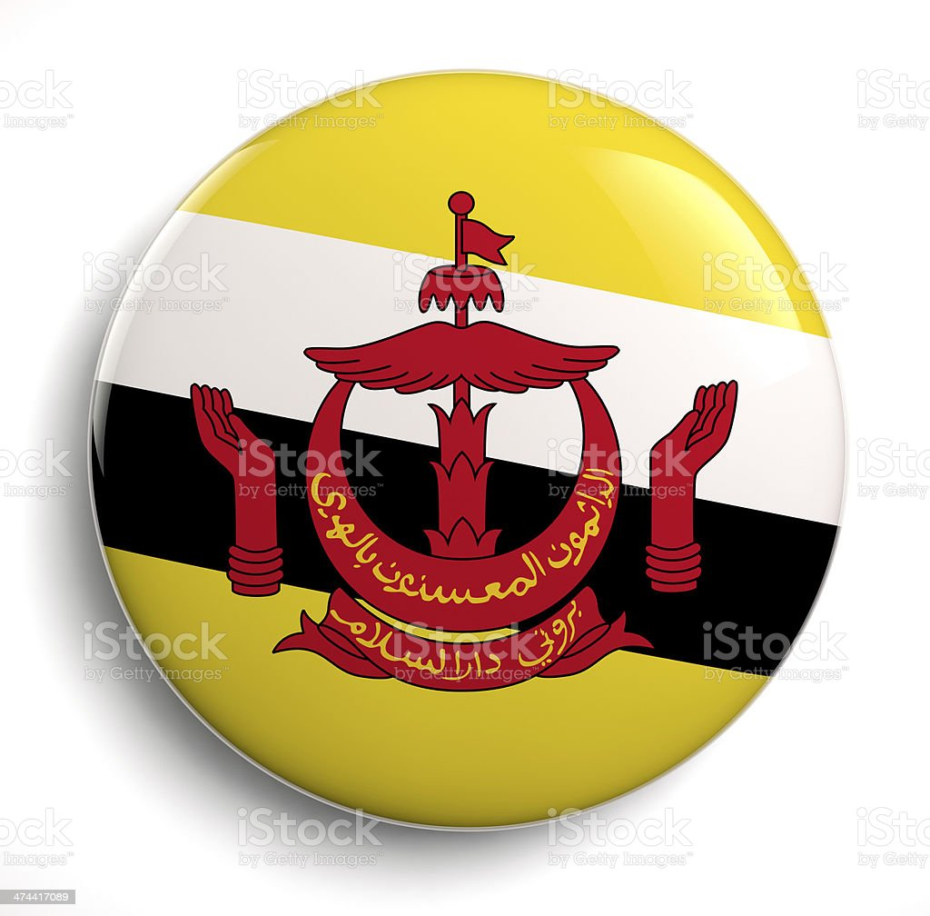 Brunei flag royalty-free stock photo