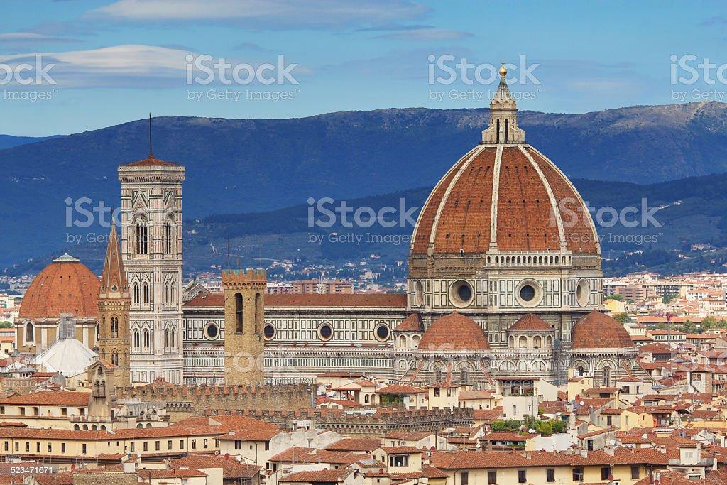 Brunelleschi's Dome (Santa Maria del Fiore) stock photo