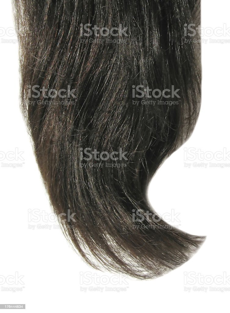 brunette black hair texture background royalty-free stock photo