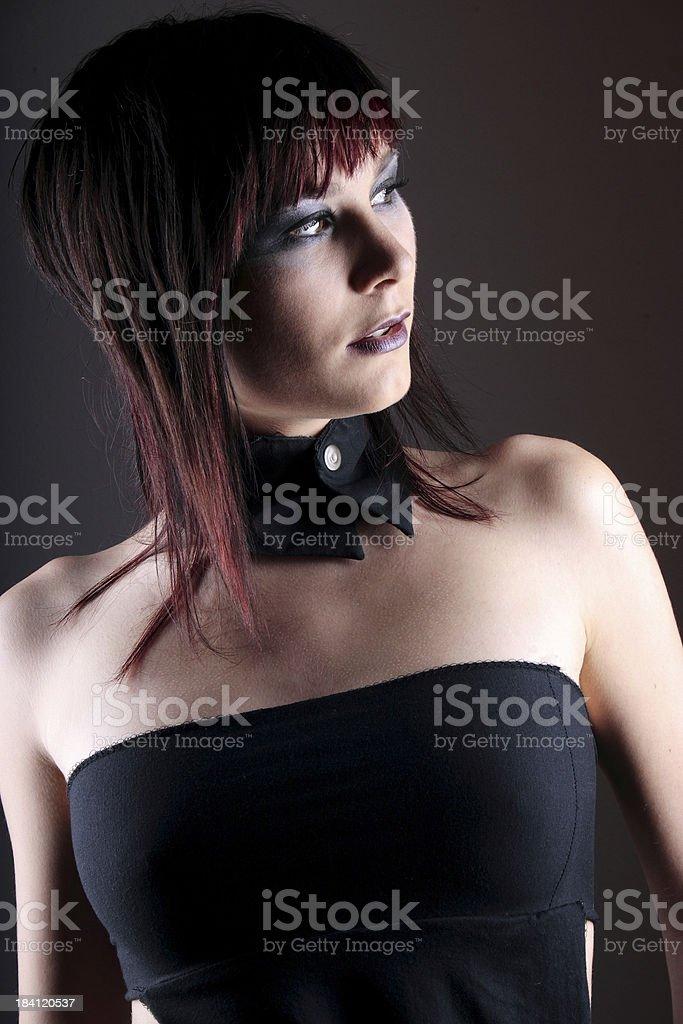 Brunette portrait 16 royalty-free stock photo