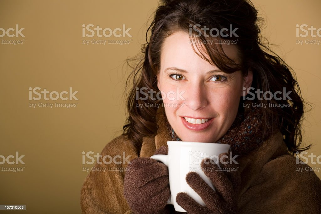 Brunette Series royalty-free stock photo